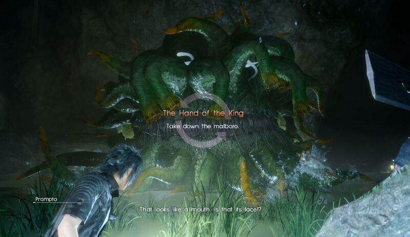 Final Fantasy 15 Chapter 10 Malboro Guide