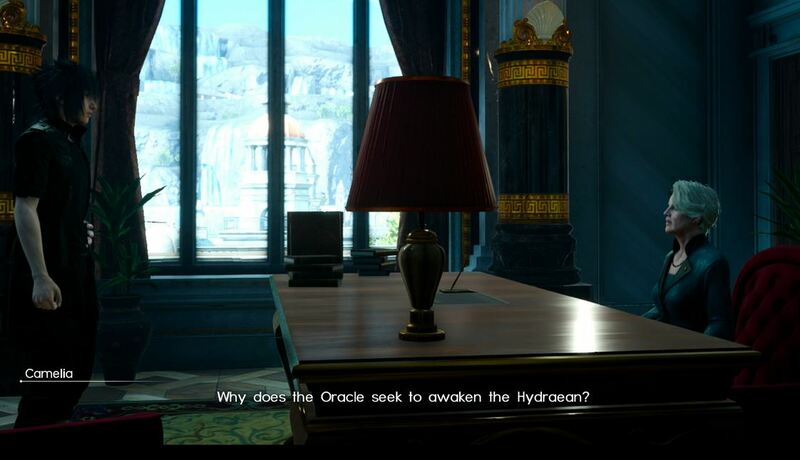 Final Fantasy 15 Chapter 9 Negosiasi Guide