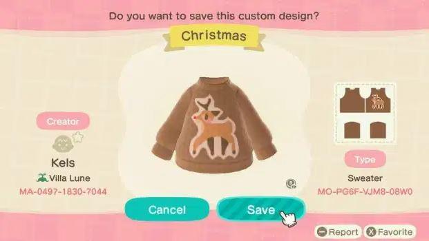 Rudolf-Sweater-Animal-Crossing
