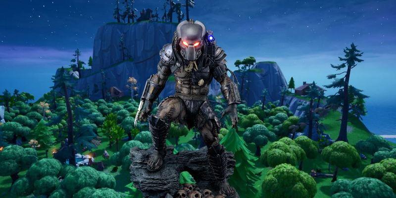 skin fortnite predator landing