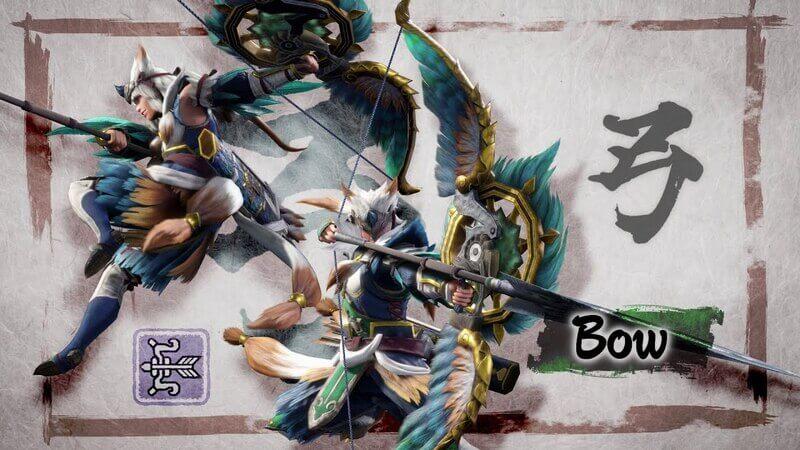 Monster-Hunter-rise-Bow-senjata-terbaik