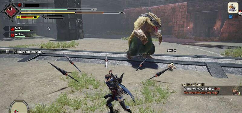 monster-hunter-rise-menangkap-monster-dengan-pitfall-trap