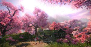 Lokasi Sakura Bloom Di Inazuma Pada Game Genshin Impact